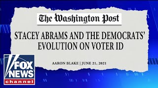 'The Five' slams media for 'covering up' Democrat flip-flop on voter ID