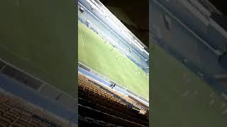 Minutos finais do primeiro tempo do jogo Oeste x Londrina!
