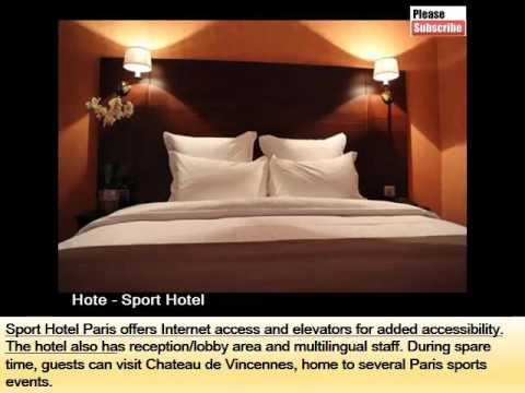 Sport Hotel | Best Hotel Idea To Stay In Paris - Pictures And Info