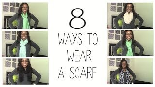 8 Ways To Wear and Tie A Scarf Thumbnail