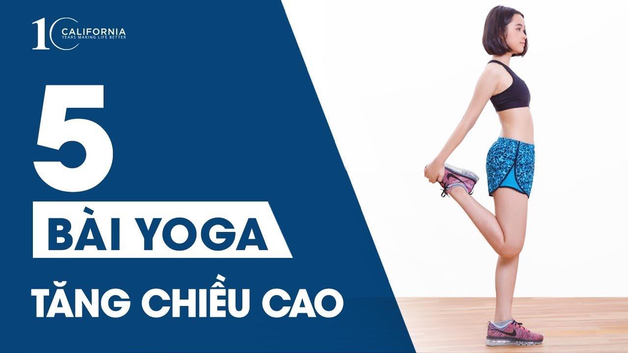 Yoga #3 – 5 bài tập Yoga tăng chiều cao cho cô nàng nấm lùn | CFYC