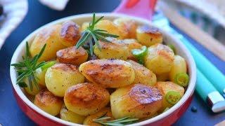 Tavada  Bebe Patates Tarifi ( Mutlaka  deneyin )