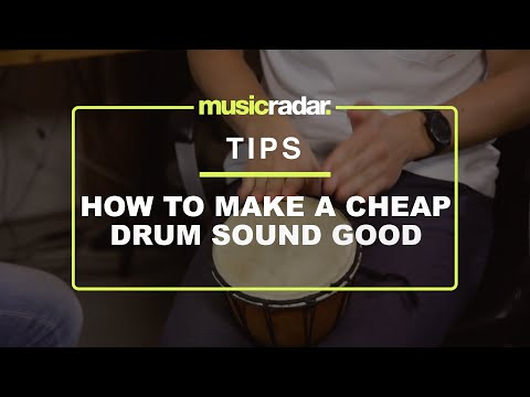 Quick Pro Tips - Fouk on how to make a cheap drum sound good