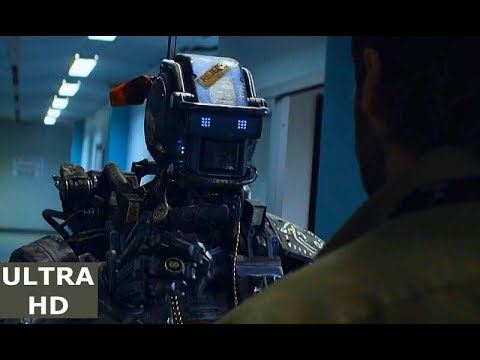 Chappie vs. Vincent Moore (Hugh Jackman) | Yo-Landi's Death | Chappie-(2015) (8/10) 2K ULTRA HD