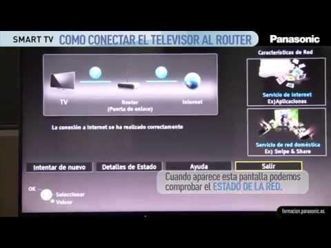 5a7ee06deb1 Como conectar tu Smart TV Panasonic al router - YouTube