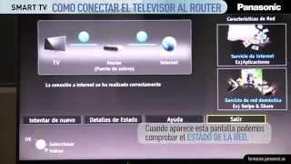 Como conectar tu Smart TV Panasonic al router