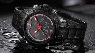 Часы NAVIFORCE 9050 с AliExpress
