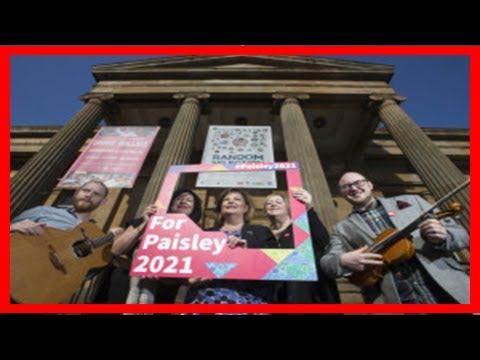 Breaking News | Paisley wins £10m in backing for uk city of culture bid