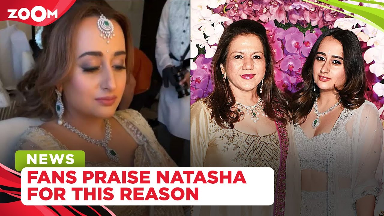 Netizens praise Natasha Dalal for being socially conscious with her wedding outfit
