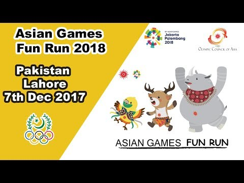 Pakistan Holds First Official Fun Run For Asian Games 2018