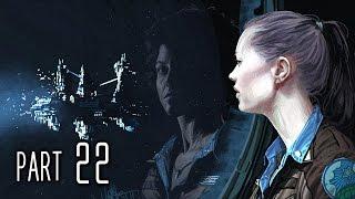 Alien Isolation Walkthrough Gameplay Part 22 - The Message (PS4)