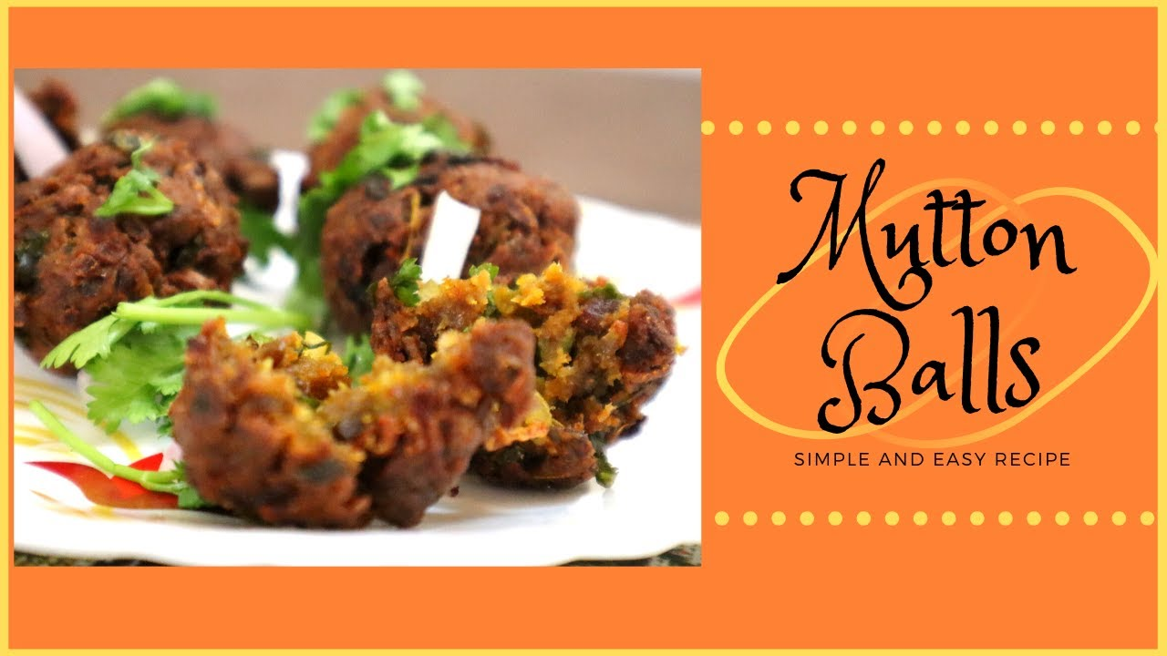 MUTTON BALLS | Mutton Dry Recipe | Simple and Easy | bigbite