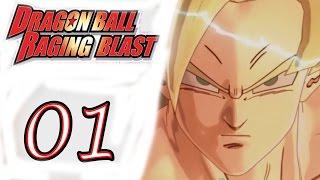 Dragon Ball Raging Blast - Part 1 - Saiyan Saga - Gameplay lets play