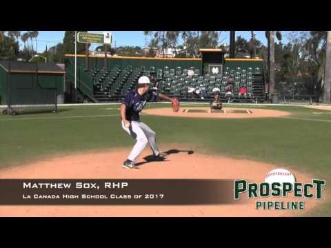 Matthew Sox Prospect Video, RHP, La Canada High School Class of 2017