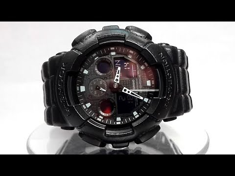 casio-g-shock-ga-100bt-1a-watch-video-2018