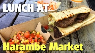 Lunch at Harambe Market | Animal Kingdom