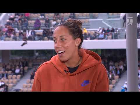 Madison Keys: 2019 Roland Garros Fourth Round Win Tennis Channel Interview