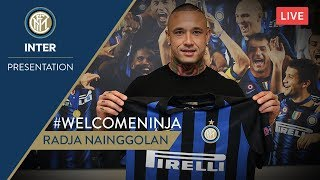 RADJA NAINGGOLAN | PRESS CONFERENCE | Inter 2018/19 🎙️⚫️🔵