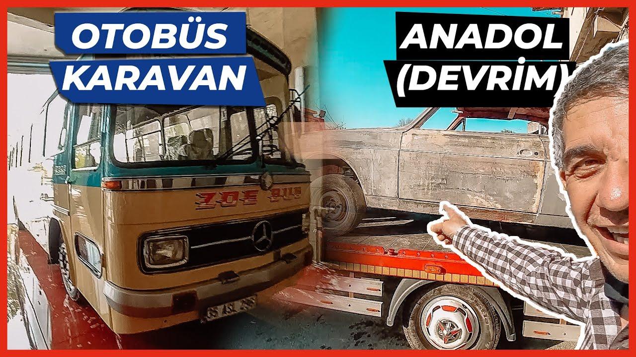 Zoe Bus Life ve Anadol (Devrim) ile SANAYİDEYİZ! - Otobüs Karavan