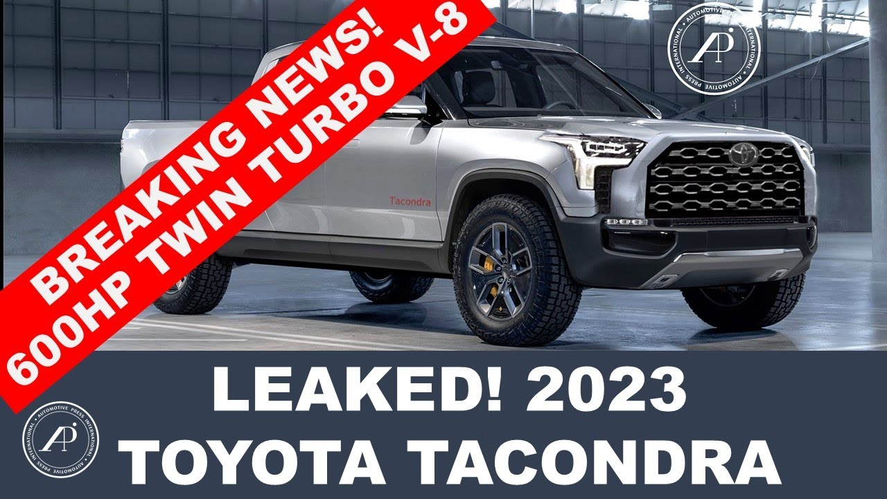BREAKING & SHOCKING NEWS! 600-hp Twin-turbo V-8 Toyota Tacondra Leaked! It's positioned above Tundra