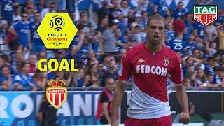 Goal Islam SLIMANI (40') / RC Strasbourg Alsace - AS Monaco (2-2) (RCSA-ASM) / 2019-20