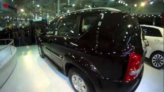 SsangYong Rexton at the 2012 Auto Expo - OVERDRIVE