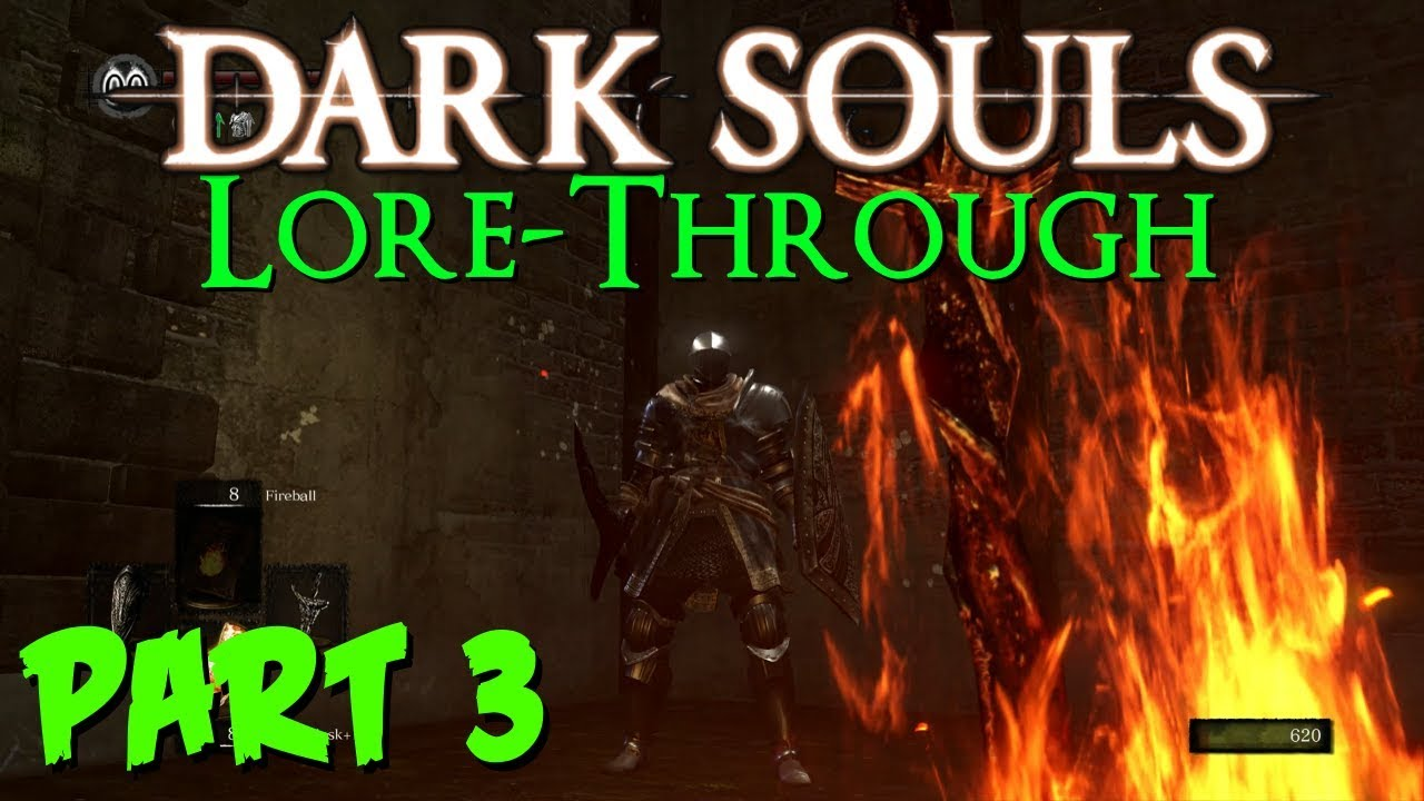 Parish and Darkroot Garden - pt3 - Dark Souls Lore - YouTube