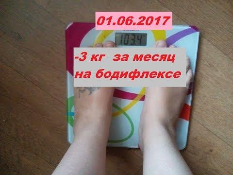 Дневник похудения. Бодифлекс результат за месяц