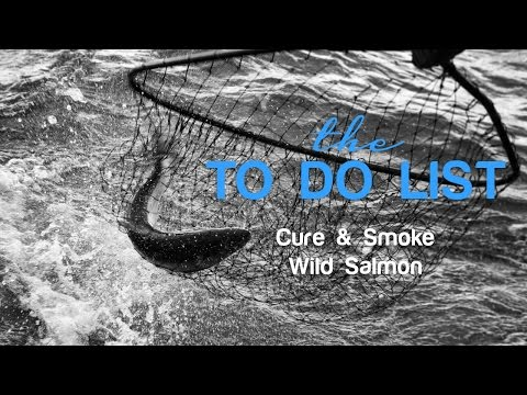 the TDL - How to Cure & Smoke Wild Salmon
