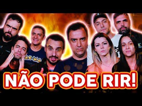 NÃO PODE RIR! - com DUBLADORES (Alfredo Rollo, Rebeca Zadra, José Francisco Jr, Luciana Baroli e...