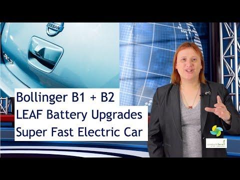 EcoTEC 108 - Bollinger B1 and B2, LEAF Battery Upgrade, Super-Fast Corvette