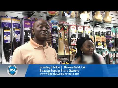 Bakersfield California Couple Opens Beauty Supply Store