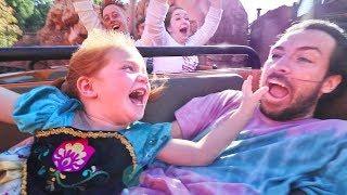 Surprising Adley With Disneyland Niko On Rides Kids Meet Disney Princesses Ultimate Best Day Ever