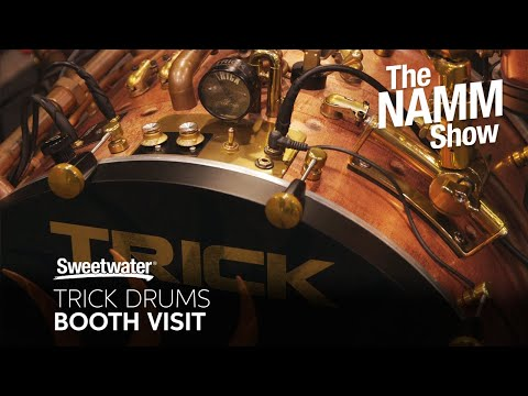 Trick Drums Booth Visit at Winter NAMM 2020