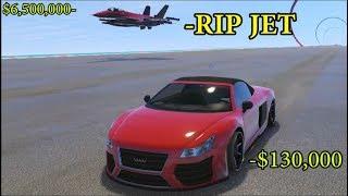GTA 5 - NEW Speed Exploit - Car Glitch DESTROYS Jet!!