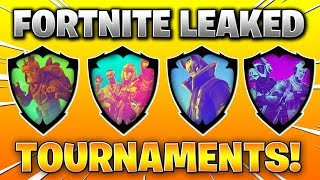 FORTNITE TOURNAMENTS EXPLAINED! (Win Exclusive Rewards, Shiny Pins, Dates + INFO!)