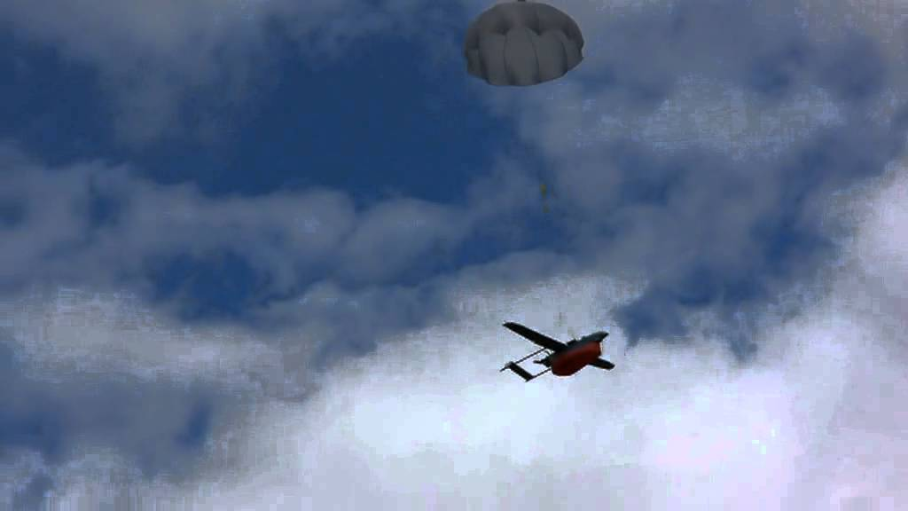 Eli Uav Parachute Landing Youtube