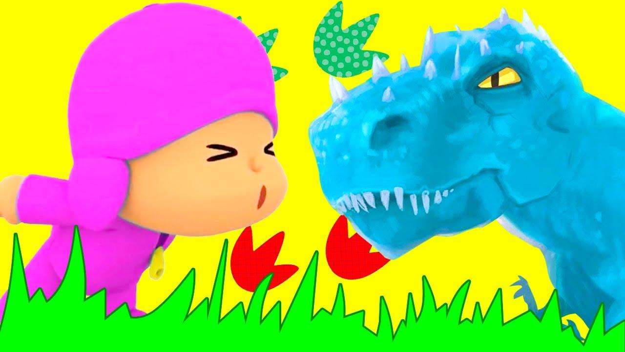 Pocoyo en Español 2021   los Dinosaurios Asombrosos   Caricaturas para Niños