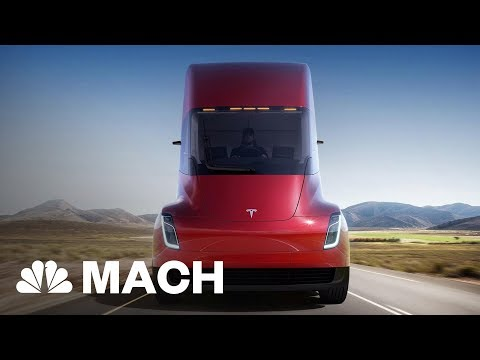 Tesla Just Unveiled A Brand New Roadster | Mach | NBC News