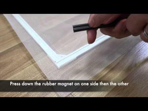 DIY Magnetic Mosquito Net