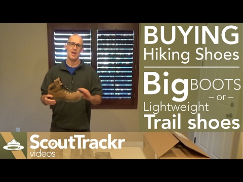 Buying Tips for hiking shoes