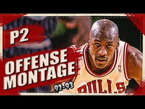 Michael Jordan BIRTHDAY SPECIAL Offense Highlights Montage 1992/1993 (Part 2) 1080p HD - WILD