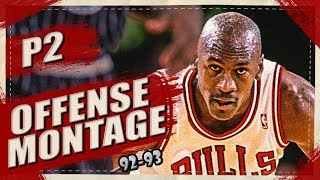 Michael Jordan BIRTHDAY SPECIAL Offense Highlights Montage 1992/1993 (Part 2) 1080p HD - WILD