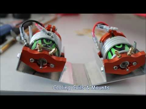 RC Boat WaterCooling test