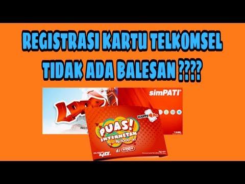 Cara Ke 2 Registrasi Kartu Telkomsel Tidak Ada Balasan - Sanjaya.com.