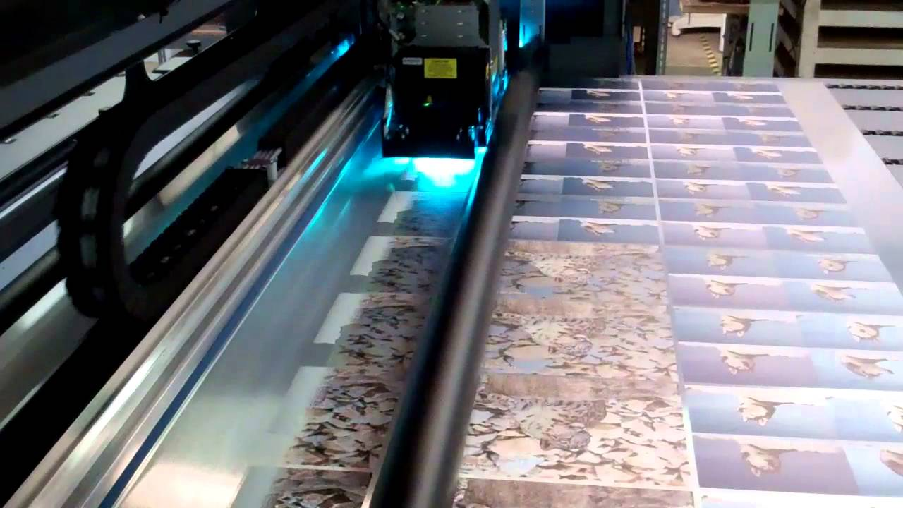 Printing With White Ink On The Hp Scitex Fb700 At Ims