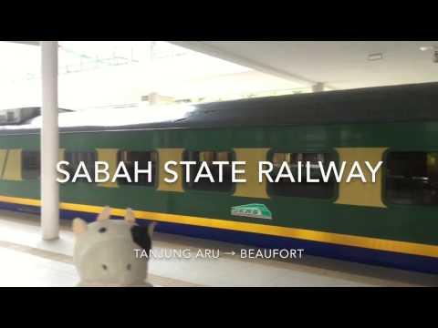 SABAH STATE RAILWAY (TANJUNG ARU → BEAUFORT)