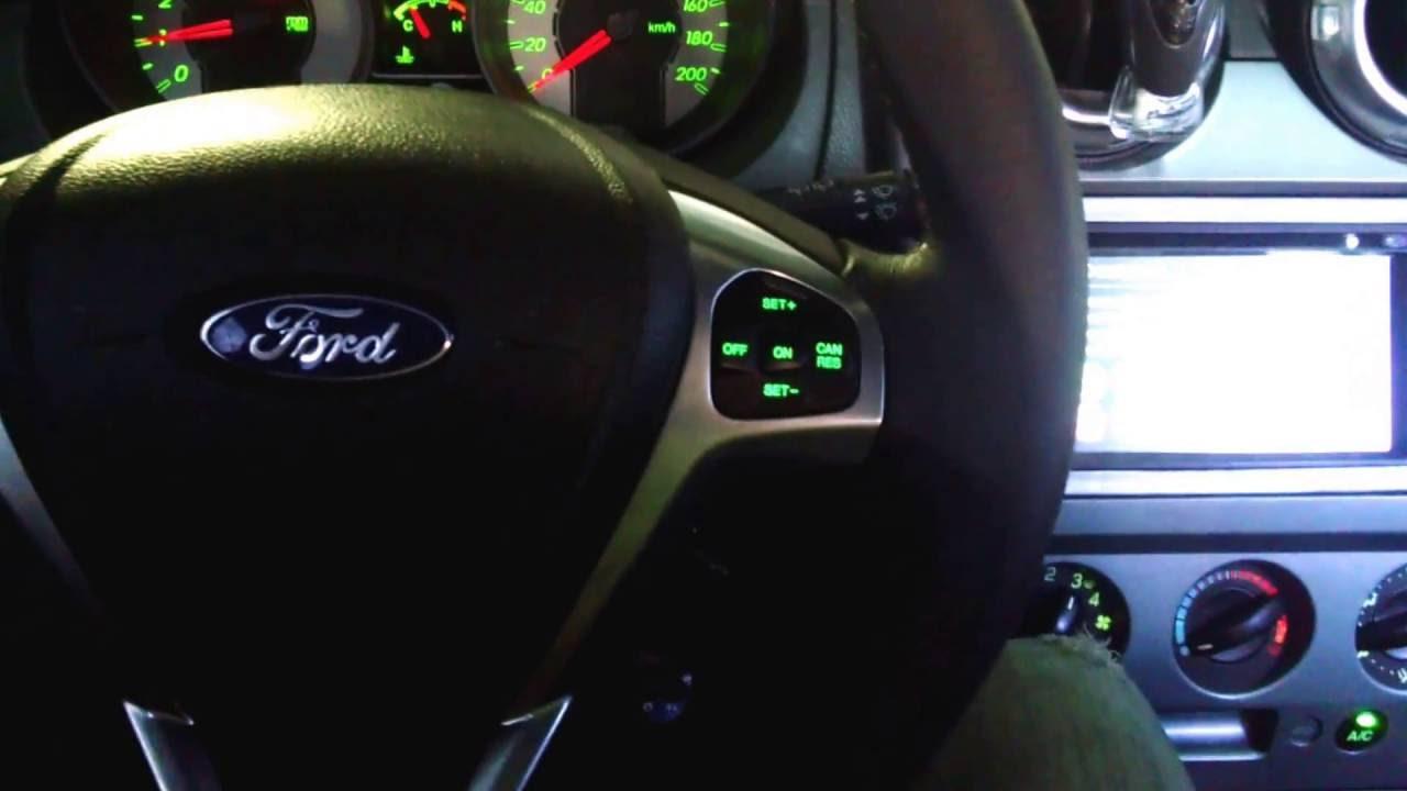 Ford Fiesta Sedan >> Comando de volante para todos os carros , Adaptação de volante multifuncional Ford fiesta - YouTube