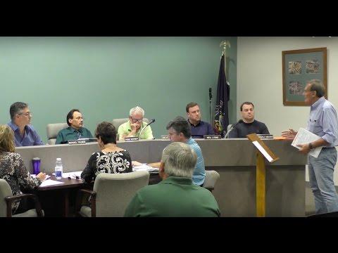Borough Council Meeting: Sept 14, 2015
