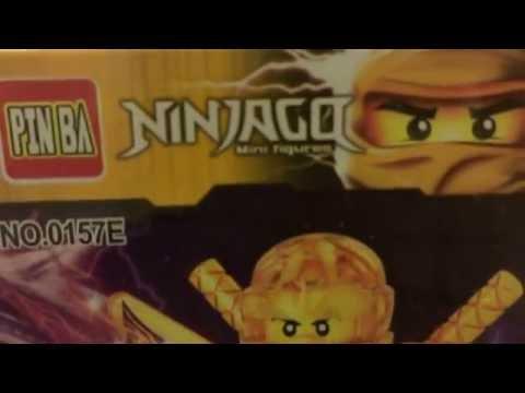 Lego Ninjago Золотой Ниндзя (Китай)